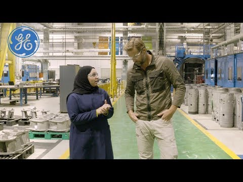 How GE Runs The World's Largest Gas Turbine Service Center & Powers Saudi Arabia | GE Power