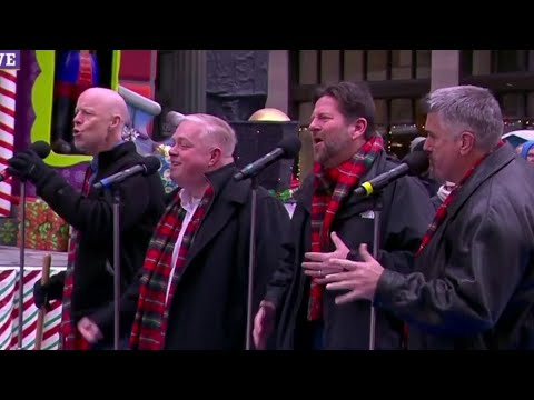 The band THUMMp performs at the 2018 America's Thanksgiving Day Parade