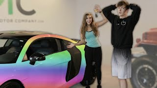 Surprising My Future Husband with His Dream Car