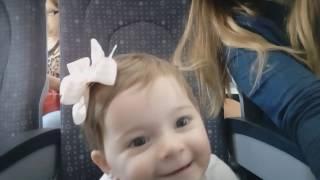 PRIMEIRO VOO DE AVIÃO DA BABY HELENA