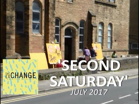 The Exchange Creative Community SECOND SATURDAY July 2017 'Paper Cuts II'