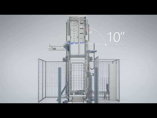 Efficient product flow with the rollbox loading system RLS from Bizerba Busch