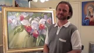 Как рисовать цветы.Живопись.рисование,painting,drawing