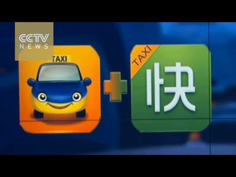 China's two biggest taxi-hailing apps to merge