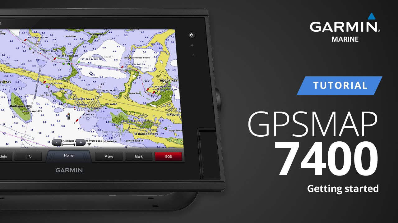Gpsmap 7400 Getting Started Tutorial Youtube Garmin Gps 158i Italy