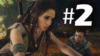God of War (2018) Gameplay Walkthrough Part 2 - Witch - PS4 Pro 4K