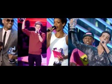 2012 VMA Winners Full List!