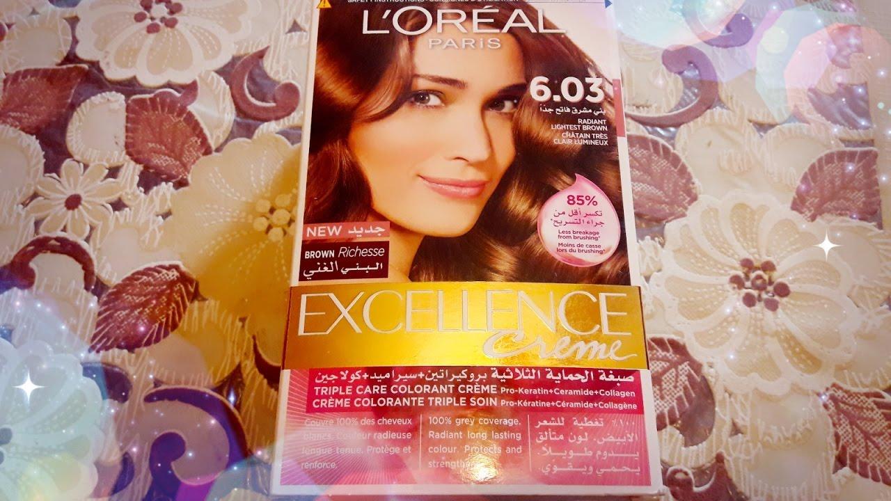 تجربتي مع صبغة الشعر من لوريال L Oreal Youtube