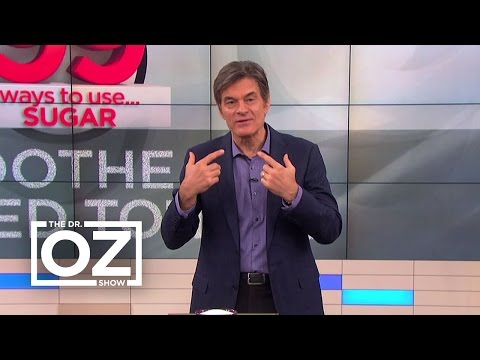 Dr. Oz Demonstrates How To Soothe A Burned Tongue