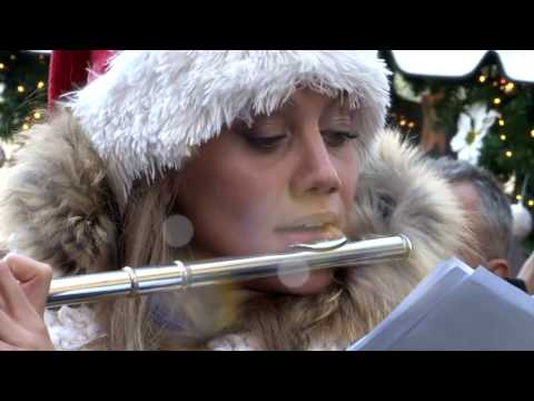 Flash mob Christmas music - Musical band Peschiera del Garda