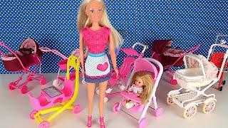 Фото Мама Покупает Новую Коляску для Маши  Мультики С Куклами Барби Школьные Истории IkuklaTV