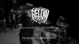 Below Live @ Katakombe Aschaffenburg (HD)