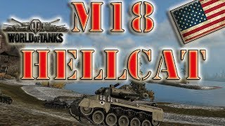 World of Tanks /// M18 Hellcat - Ace Tanker, High Caliber