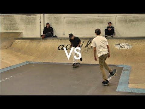 Christopher Setinas vs Jon Cos @ Skateloft