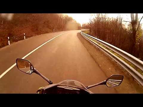Honda Cbr 650r on Mátra hill :P