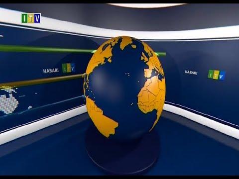 #MUBASHARA:TAARIFA YA HABARI YA ITV SAA TANO USIKU OKTOBA 25, 2018