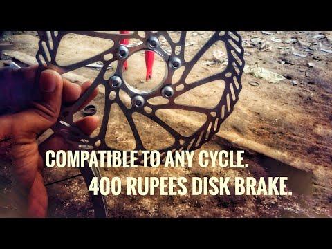 How to install disk brakes on non disk brake cycle/Buddy Tech. #buddytech #diskbrake