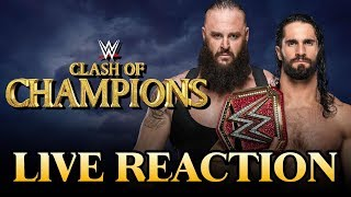 WWE Clash of Champions 2019 LIVE REACTION