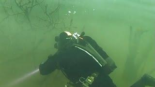 под водой с Вадимом Малышем - 489 - Калининград. Синявинский карьер