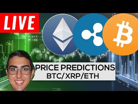 Price Predictions: Bitcoin ($BTC), Ethereum ($ETH), and Ripple ($XRP)!
