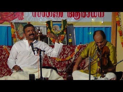 Carnatic Music - T.M. Krishna - Vandanamu Raghunandana...Sahana