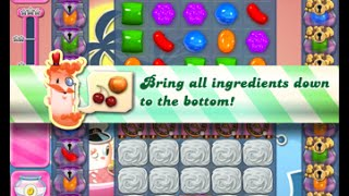 Candy Crush Saga Level 1539 walkthrough (no boosters)