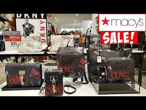 MACY'S NEW DESIGNER HANDBAGS * PURSE SHOPPING * SHOP WITH ME 2019