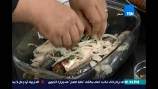 مطبخ TeN | طريقة عمل ماكريل بالجنزبيل والثوم - مشروب النضارة - خبز القمح - 21 يوليو