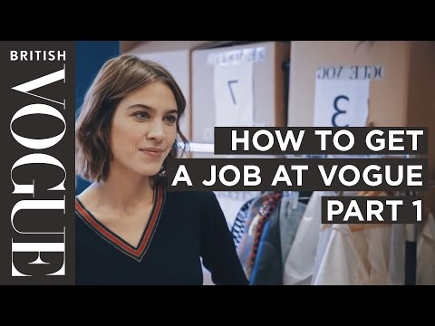 How to get into Fashion Journalism with Alexa Chung | Future of Fashion | British Vogue