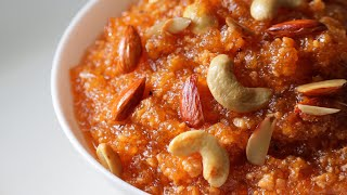 Delicious raw papaya halwa recipe | kachhe papite ka halwa