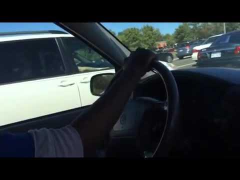 Listen gospel song while driving.