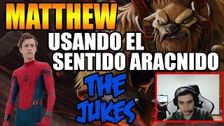 MATTHEW USANDO EL SENTIDO ARACNIDO | DONADOR PIDE QUE LO CACHE | DOTA 2