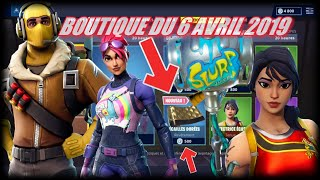 FORTNITE: Shop of April 6, NEW GOLD ÉCAILLE REVÊTEMENT, SKIN TERREUR FLUO, BOIS WITHOUT SOIF