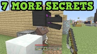 Minecraft Xbox One / PS4 - 7 MORE SECRET FEATURES