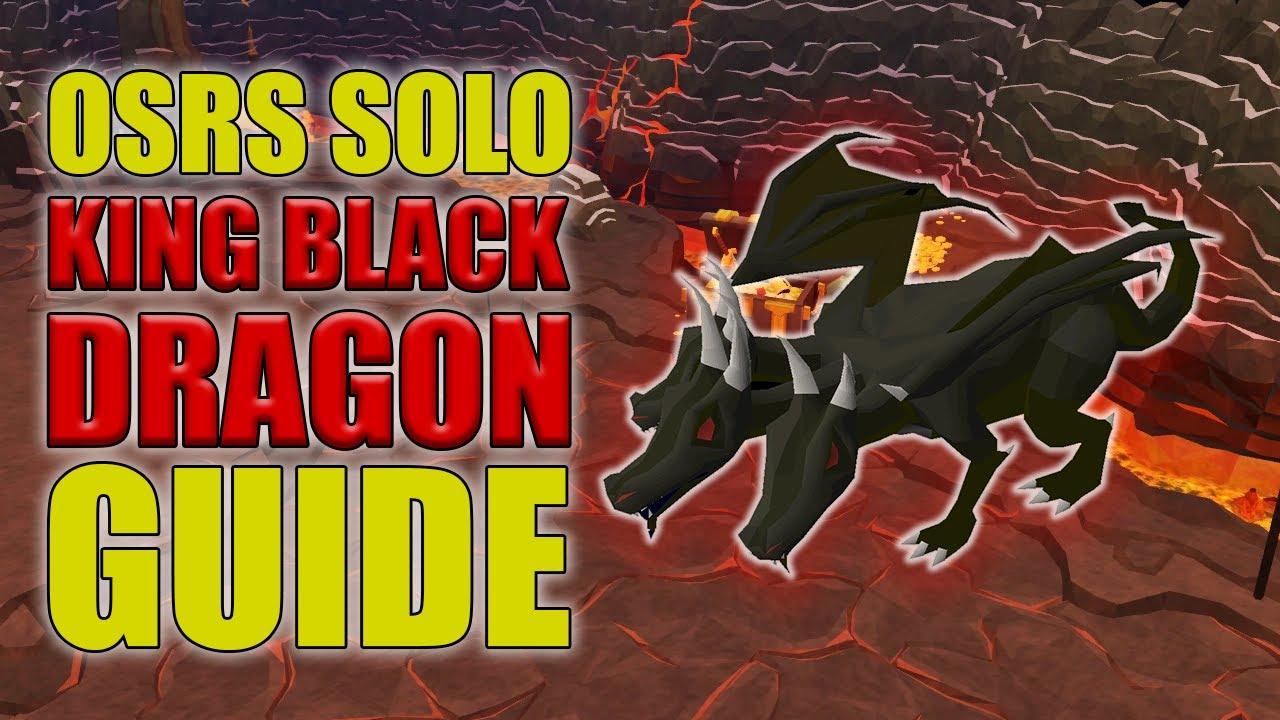 OSRS Boss - King Black Dragon Guides - OSRS Best in Slot