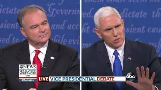 Vice Presidential Debate Highlights | Pence, Kaine on US Intervention in Syria