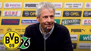 "Marco Reus? ""ES GEHT IHM GUT!""   PK mit Favre & Zorc   BVB - Hannover 96"