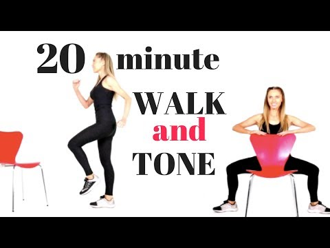 WALK AT HOME – WALKING WEIGHT LOSS WORKOUT AND TOTAL BODY TONE FOR WOMEN – WALK AT HOME
