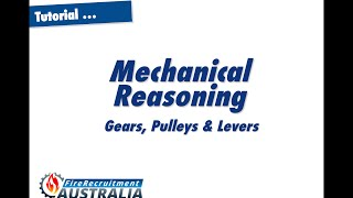 Mechanical Pulleys Gears and Levers