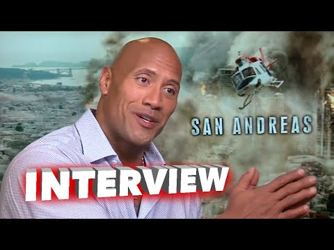 "San Andreas: Dwayne Johnson ""The Rock"" Exclusive Movie Interview"
