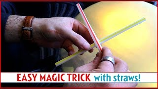 Easy Magic Trick with Straws!