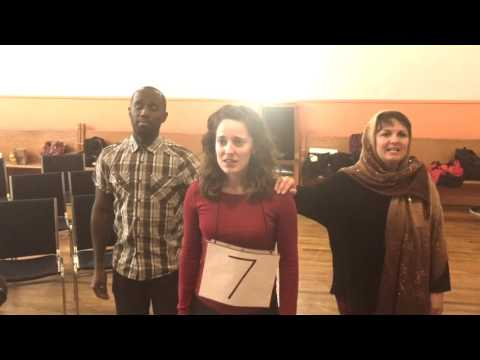 Indie Women's 25th Annual Putnam County Spelling Bee in rehearsals