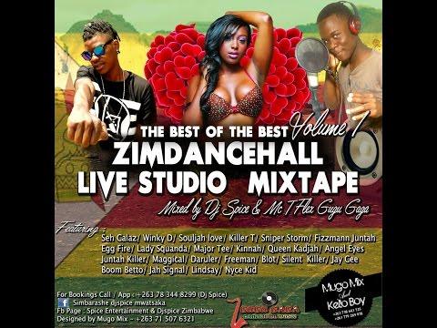 Best 2016 Zimdancehall mixtape by dj spice and gugu gaga volume 1,part 1