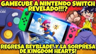 NOTIIAS EPICAAAS: GAMECUBE EN SWITCH MAS CERCAQUE NUNCA!!! BEYBLADE REGRESA! Y MAS!