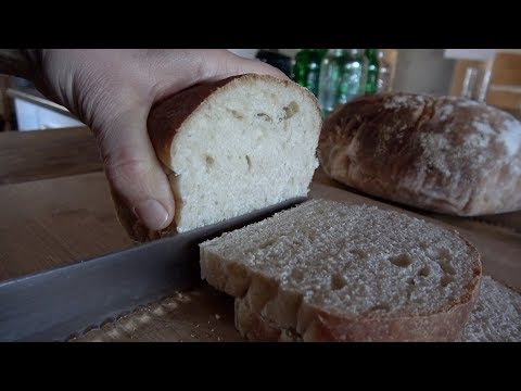 Easy Sourdough Bread: From Mixing to Baking in a Wood Cookstove