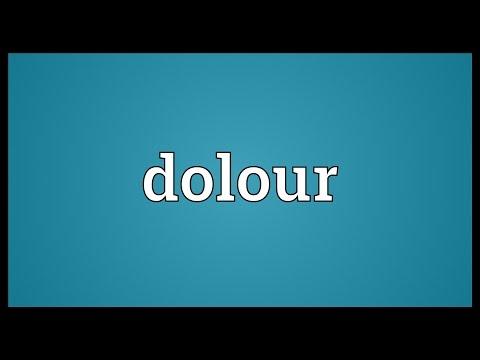 Header of dolour