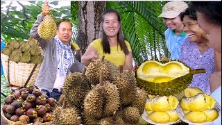 Kampot Durians are the Best to Try | Kampot Durians Sell in Phnom Penh & Kampot Durian at River Park