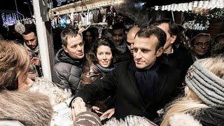 Fransa Cumhurbaşkanı Macron, Strazburg saldırısında hayatını kaybedenleri anma törenine katıldı…