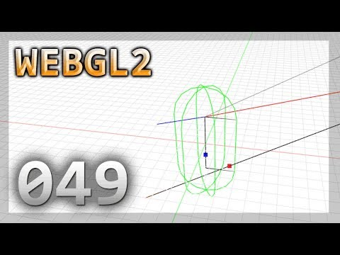 WebGL 2 : 049 : Ray Cylinder / Capsule Intersection