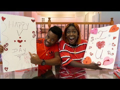 Giant Valentine S Day Card Challenge Loser Don T Get A Gift Youtube